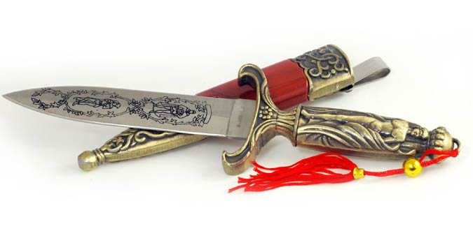 Ornate Greek Athame