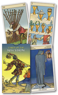 Tarot of the New Vision deck