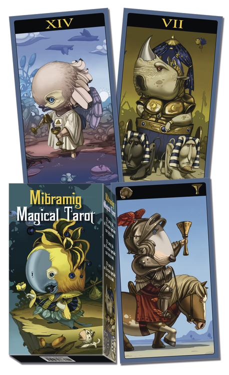 Mibramig Magical Tarot Deck