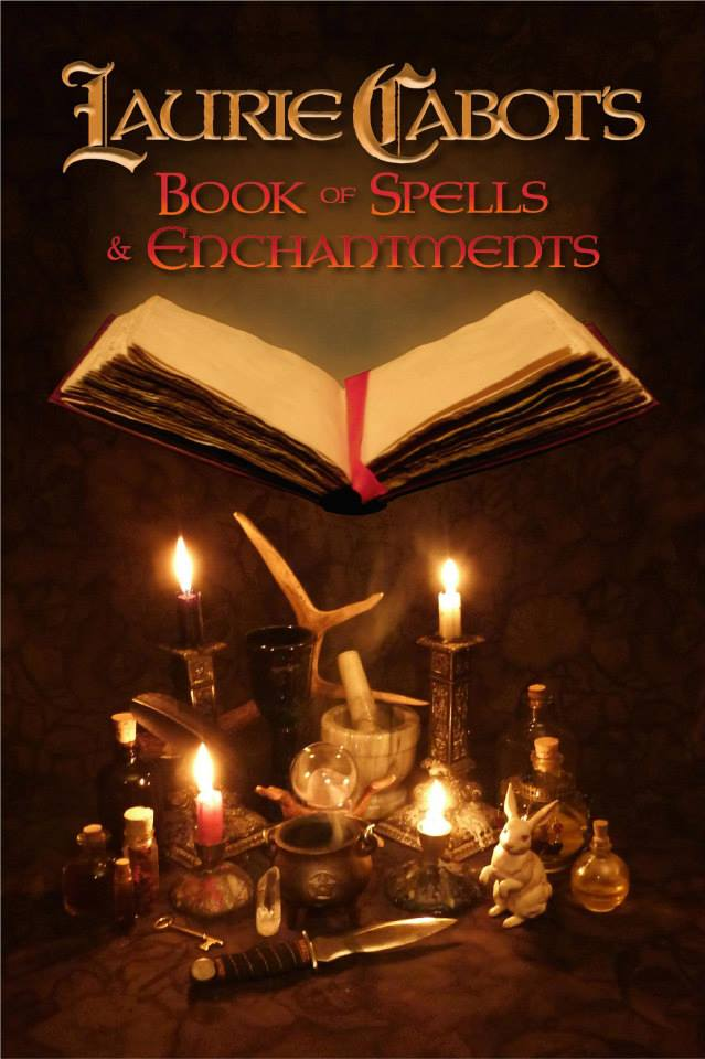 Laurie Cabot's Book of Spells and Enchantments - Autographed