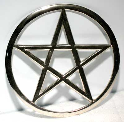 Out Pentagram Altar Tile 5 3/4""