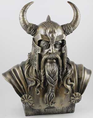 Odin Bust [SO280] - $74 95 : The Official Witch Shoppe Online