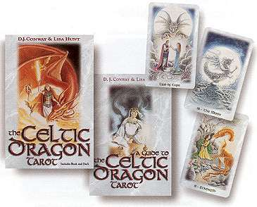 Celtic Dragon Tarot Deck and Book