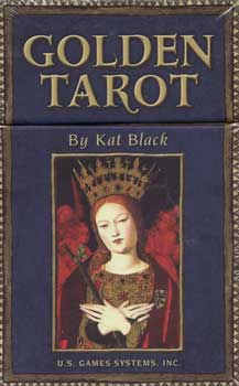 Golden Tarot (deck and book) by Kat Black