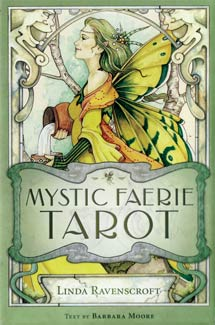 Mystic Faerie (book & deck) by Ravenscroft / Moore