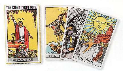 Waite tarot deck by A.E. Waite