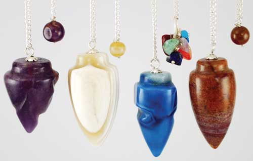 Assorted Gemstone Pendulums