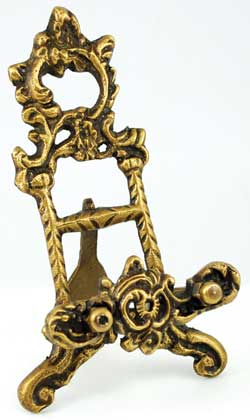 "Brass Scrying Mirror 6"" Holder - Click Image to Close"