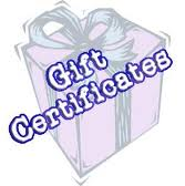 Gift Certificate - Enchanted