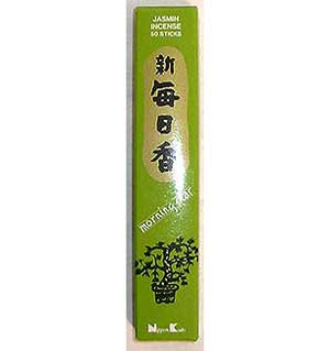 Jasmine Morning Star Stick Incense & Holder (50 pack)