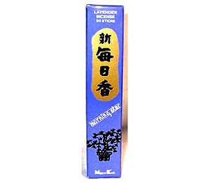 Lavender Morning Star Stick Incense & Holder (50 pack)