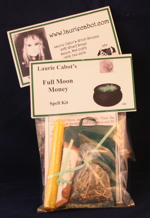 Full Moon Money Spell Kit by Laurie Cabot