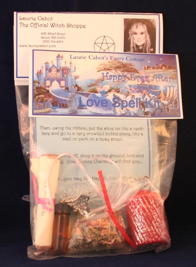 Happy Ever After Love Spell Kit by Laurie Cabot