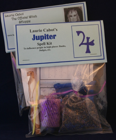 Jupiter Spell Kit by Laurie Cabot