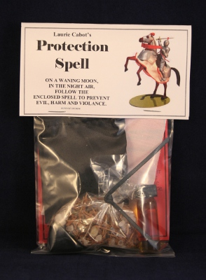 Protection Spell by Laurie Cabot