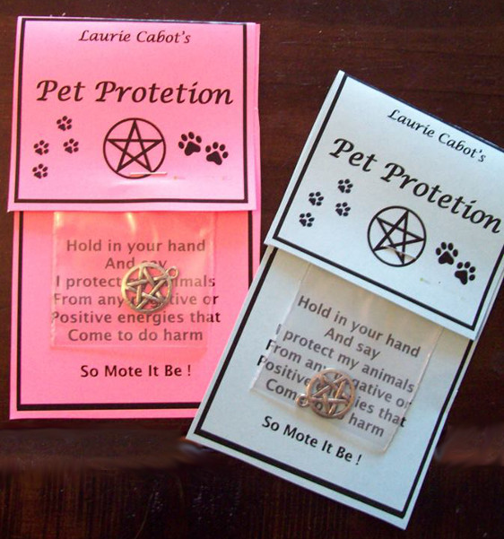 Pet Protection Spell by Laurie Cabot