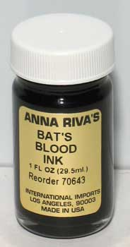 Bat's Blood ink 1oz