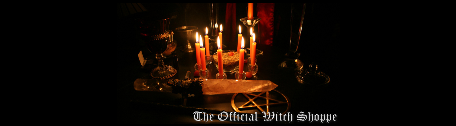 The Official Witch Shoppe Altar
